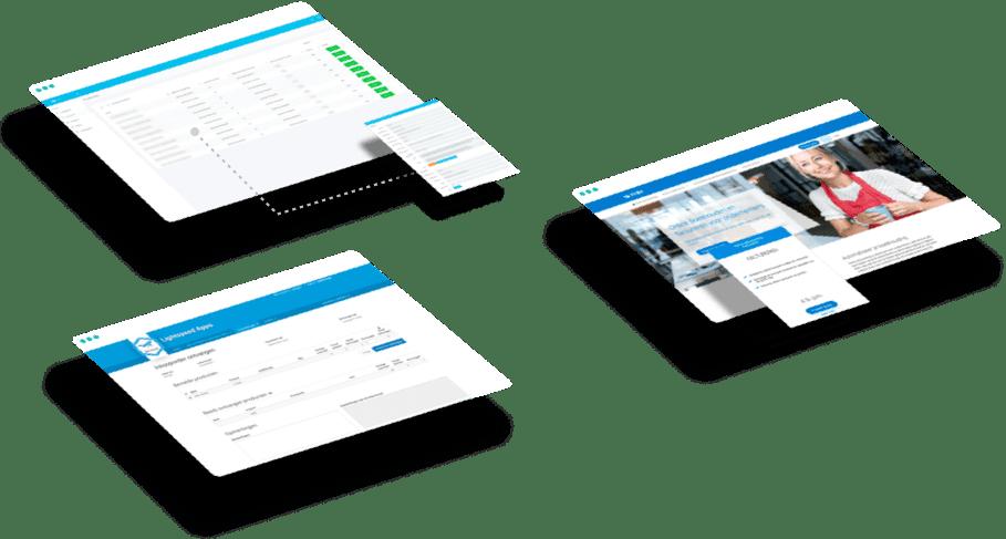 Drie bedrijven die hun webapplicatie hebben laten maken door Web Whales