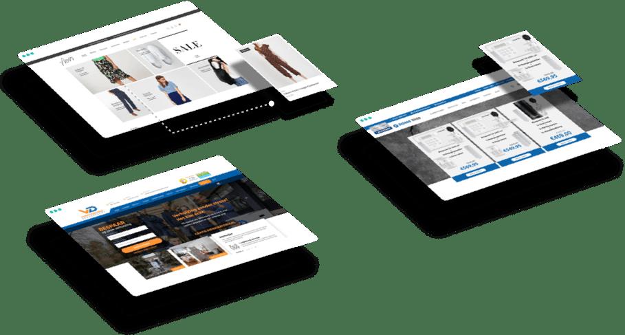 Drie bedrijven die hun webshop hebben laten maken door Web Whales